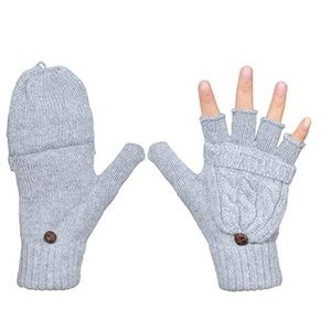 Women's Winter Gloves Warm Wool Knitted